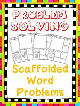 Problem Solving/Test Prep Scaffolded Word Problems: Fifth
