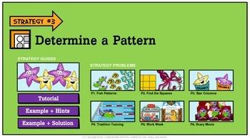 Problem Solving Unit 3:Determine a Pattern