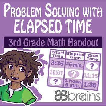 Problem Solving With Elapsed Time pgs. 21&22 (CCSS)