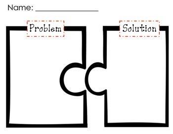 Problem and Solution Draw Response Sheet