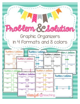 Problem and Solution Graphic Organizers