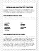 Problem and Solution Text Structure: Paragraph Analysis an