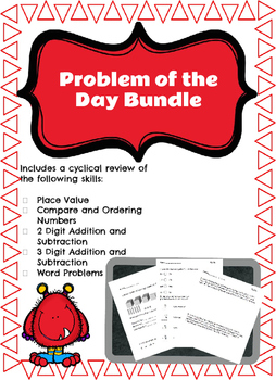 Problem of the Day (Cyclical Review) Bundle
