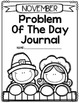 Problem of the Day-NOVEMBER (daily math word problem practice)