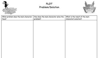 Problem/Solution Three Column Graphic Organizer