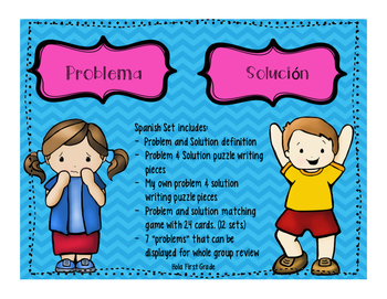 Problema y Solucion - Problem / Solution Spanish