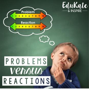 Problems vs. Reactions: Emotional Regulation Pack #october