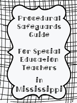 Procedural Safeguards Guide for Special Education Teachers