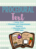 Procedural Text {Mini Lesson}