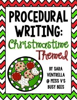 Procedural Writing: Christmastime Themed {Freebie}