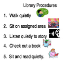 Procedures for the Library (with pictures)
