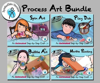 Process Art Bundle - Animated Step-by-Steps SymbolStix