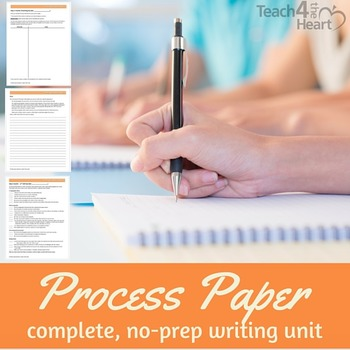 Process Paper / How-To Writing Unit for middle school (edi