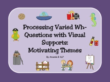 Processing Varied Wh- Questions with Visual Supports: Moti