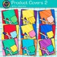 Product Cover Clip Art Bundle {Design TPT Resources - ONE
