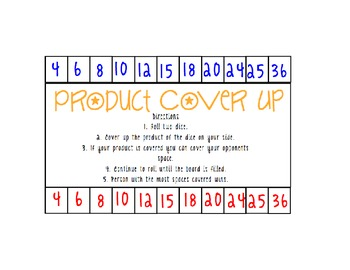 Product Cover Up Game