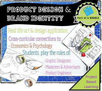 Product Development & Brand Identity: Be graphic designers