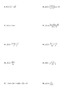 Product and Quotient Rule Derivatives Worksheet (Day 1)