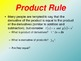 Product and Quotient Rules