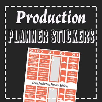 Production Planner Stickers