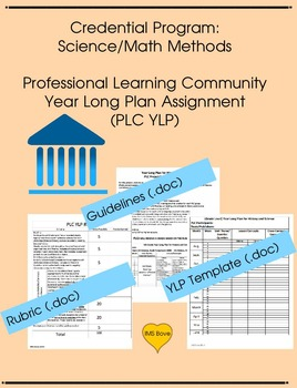 Credential Program: Professional Learning Community Year L