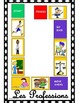 Professions in French Board Game