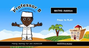 Professor B:  Interactive maths addition