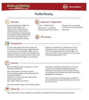 Profile Penalty; Online Privacy