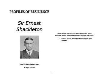 Profiles of Resilience: Sir Ernest Shackleton