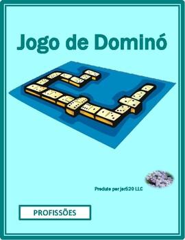 Profissões (Professions in Portuguese) Dominoes
