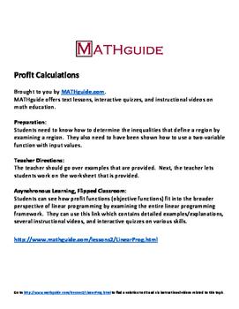 Profit Calculations