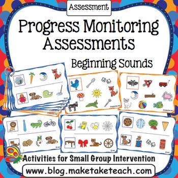 Progress Monitoring Assessments - Beginning Sounds
