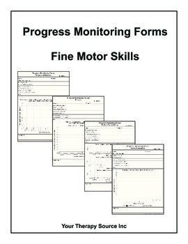 Progress Monitoring Forms - Fine Motor Skills