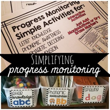 Progress Monitoring for Early Reading