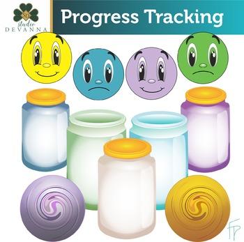 Progress Tracking Clip Art