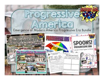 Progressive America: Progressive Era Bundle