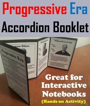 The Progressive Era Unit Activity