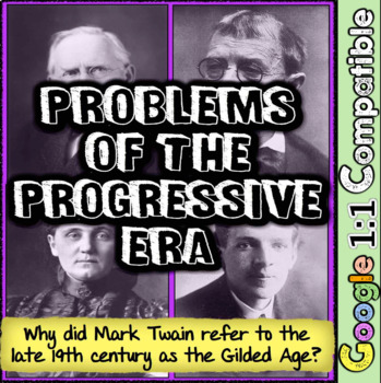 Mark Twain & the Progressive Era Problems: Why Did Twain N