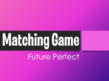 Spanish Future Perfect Matching Game