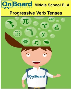 ELA Progressive Verb Tenses-Interactive Lesson