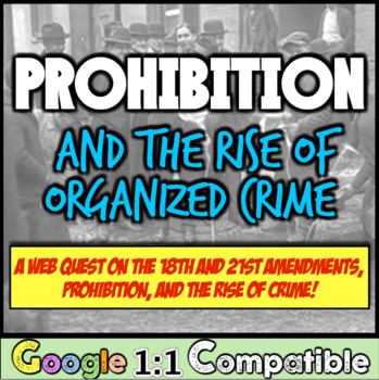 Prohibition, the 18th Amendment, & the Rise of Organized C
