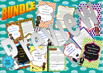 U.S. Historical Figures: Project Based Learning Activity: