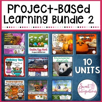 PROJECT BASED LEARNING 10 Unit Bundle #2