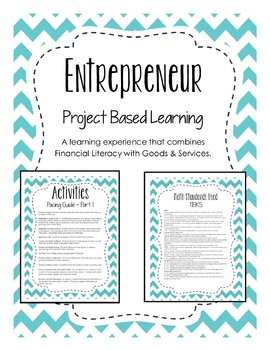 Project Based Learning - Entrepreneur Project - Financial