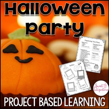 Project Based Learning: Halloween Party Planner With Math