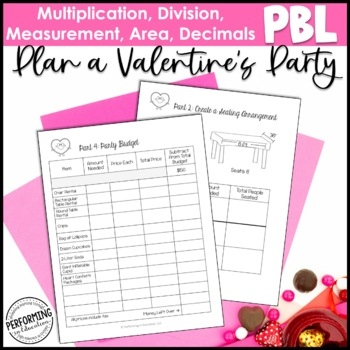 Valentine's Day Math Project-based Learning