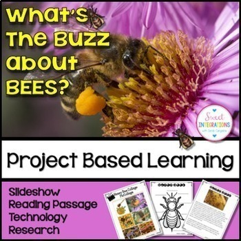 PROJECT BASED LEARNING: SAVE THE HONEY BEES With PowerPoin