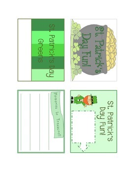 Project Cards - St. Patrick's Day (English)