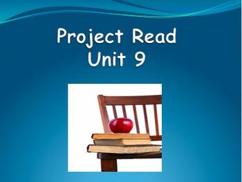Project Read Unit 9 PowerPoint