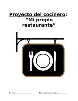 Project Sp3, Sp4, Sp5 - Restaurante ideal: Crear carta, pr